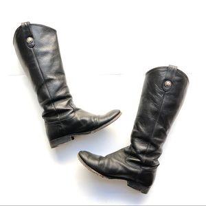 🆕Frye Melissa Button Riding Boots Black size 7